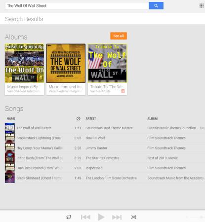 Полный доступ к Google Music по подписке на самом деле совсем не полный.