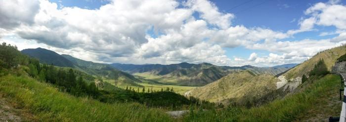 Вид с перевала Чике-Таман